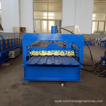 Metal Box Profile 34/1000 Sheets rolling machine