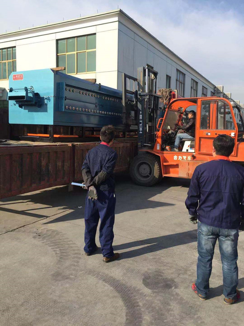 Net belt sintering furnace delivery