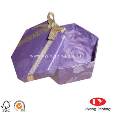 Custom Logo Lid-off Type Paper Gift Box
