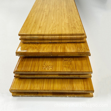 Indoor Carbonized natural Vetical Bamboo Flooring