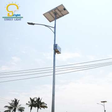 Solar power street light with new energy 60W