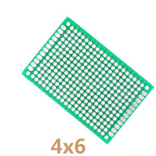 5pcs/lot 4x6cm DIY Double Side Copper Prototype PCB Universal Printed Circuit Board Learning Board