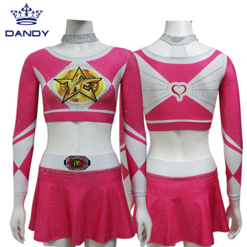 Girls College Cheer Leotards And Skorts