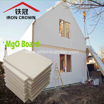 High Density Fireproof Fiberglass Magnesium Oxide Board
