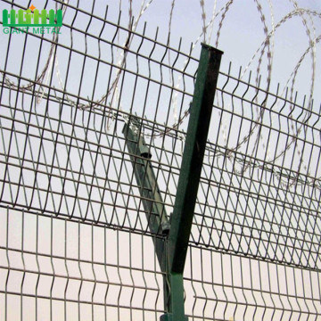 high quality airport fence panel airport mesh fence welded wire fencing