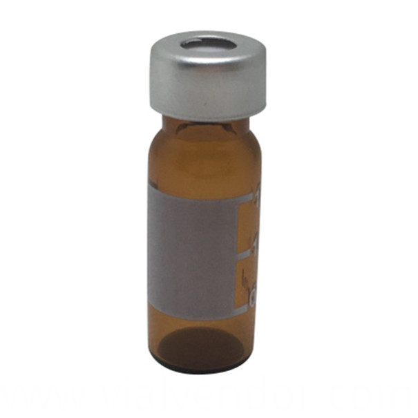 Amber Crimp Vial