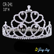 Wholesale crystal pageant cheap tiaras