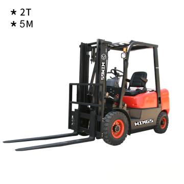 2 Tons Diesel Forklift (5-meter Lifting Height)
