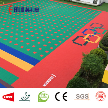 Outdoor Children Playground Floor
