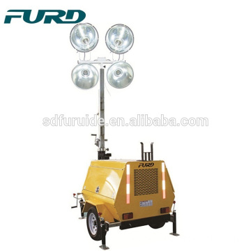 Heavy Gauge All-Steel Body Towable Lights Tower