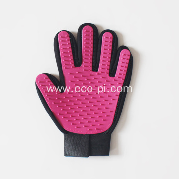 Five Fingers Pet Grooming Glove Brush