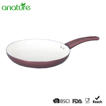 White Ceramic Pressed Glass Heat Resistant Cookware Set