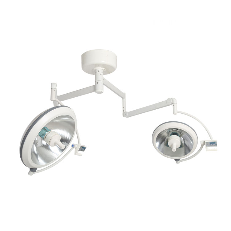 Electric surgical double head examination reflection lamp
