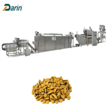 Automatic pet feed production line