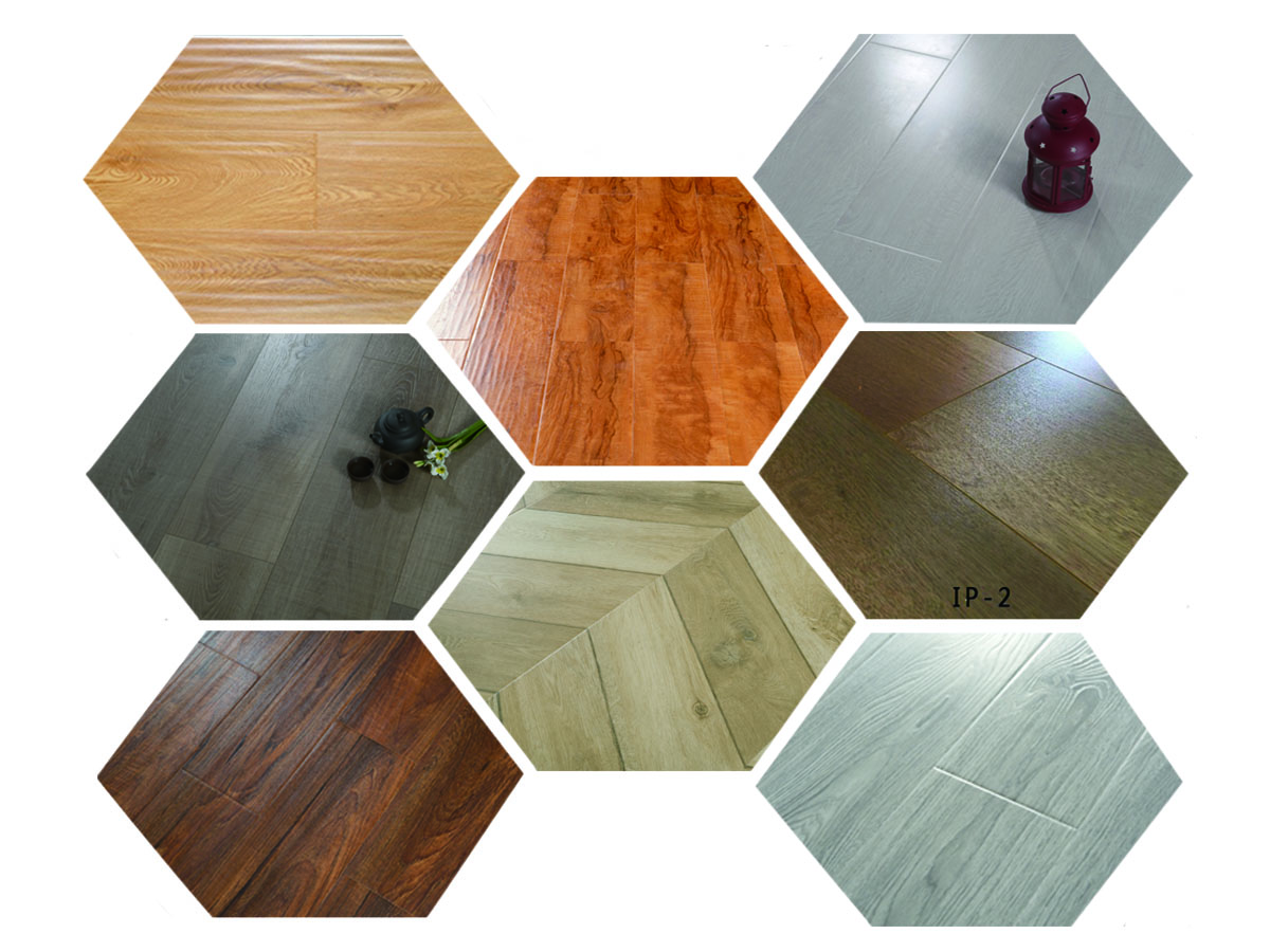Deep Embossed Floors Environment Friendly
