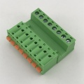 screw to spring male and female terminal block