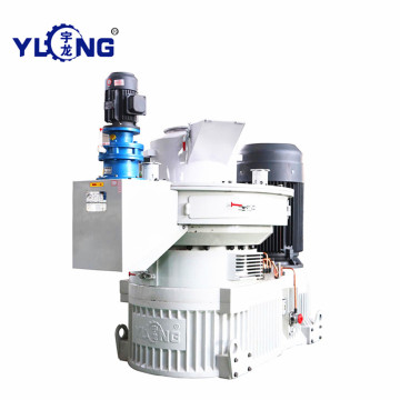 Pellet mill machine 1 ton per hour