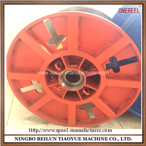 Metal detachable collapsible spool