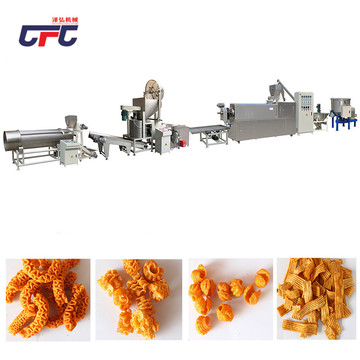 Food puffing equipment production line