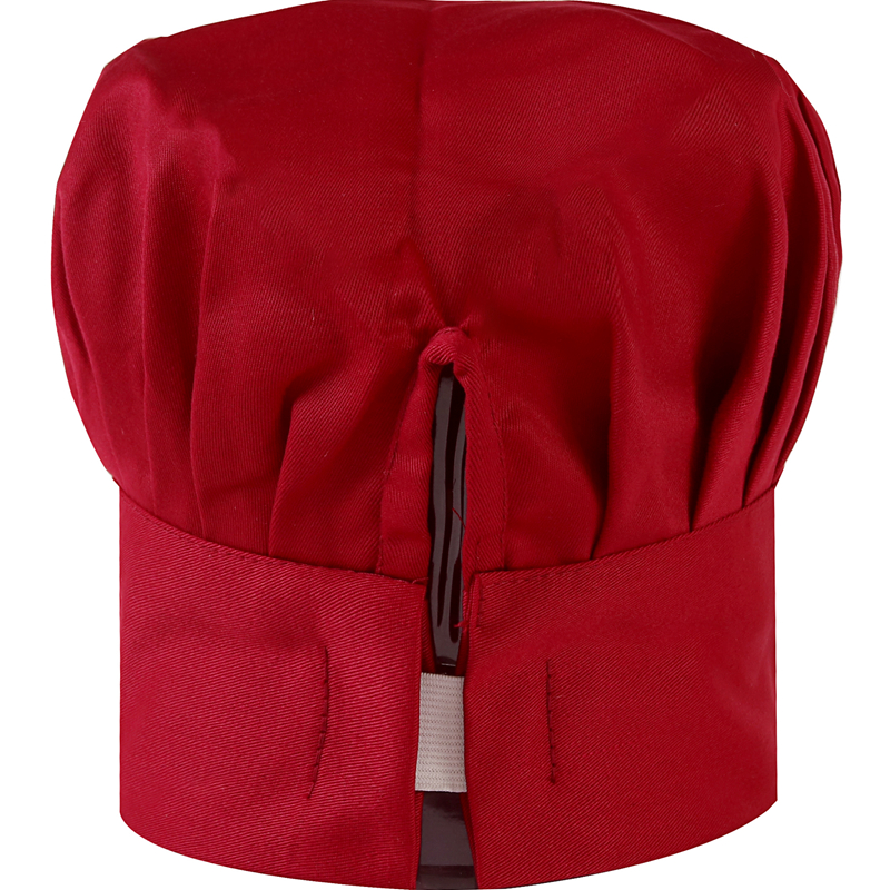 Chef hat male cotton white mushroom cap food factory catering school kitchen fume-proof work hat
