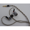 HiFi Earphones for Musicians with Detachable MMCX Earbuds