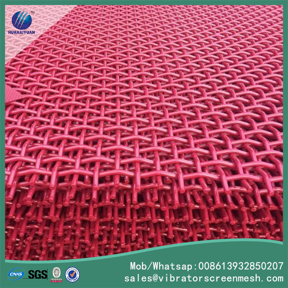 Painting Spring Steel Wire Mesh