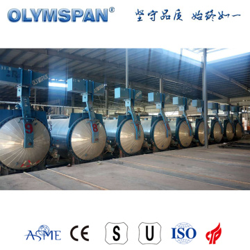 ASME standard cement block curing autoclave