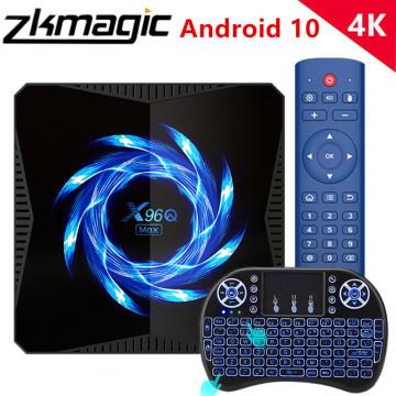 X96Q Max Smart TV BOX Android 10 Allwinner Chip H616 6K 4K HD Media Player 2.4G/5G Wifi BT5.0 Youtube Google Play Set Top Box