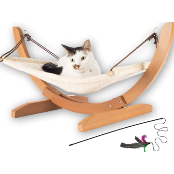 Large Soft Plush Cat Hammock