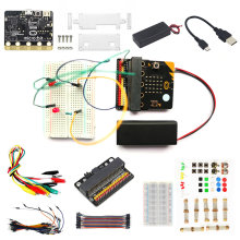 BBC Micro:bit Go Starter Kit Case Expansion Breadboard USB Cable Learn Programming Kids