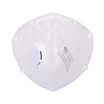 Non-Woven Headband Foldable Safety Valved Mask