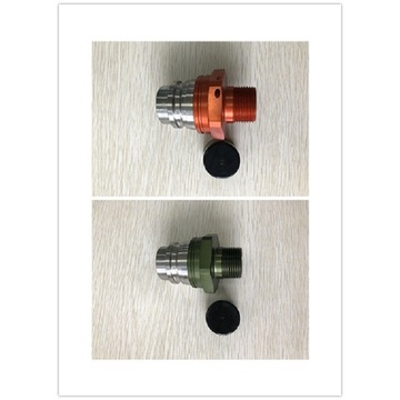 ISO16028 Quick Coupling FF5A Male Orange