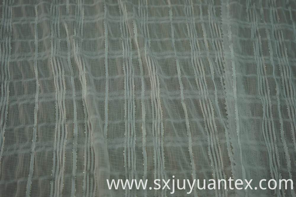 Lurex Stripe Dobby Fabric