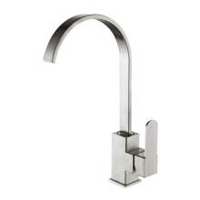 Single cold stainless steel faucet