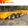 Good Price 100 Ton Tri-axle Lowbed Trailers