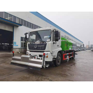 Dongfeng Tianjin High pressure Road dust sweeper truck