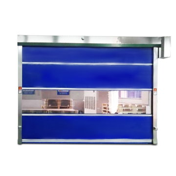 Automatic PVC Curtain Fast Roll up Door