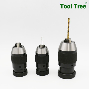 Jacobs tapper fitting keyless drill chuck