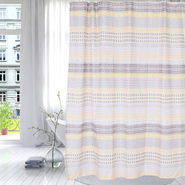 Shower Curtain Polyester Classic Horizontal