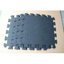 high density  interlocking rubber mat flooriing