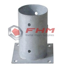 Galvanized Round Anchor for Round Post