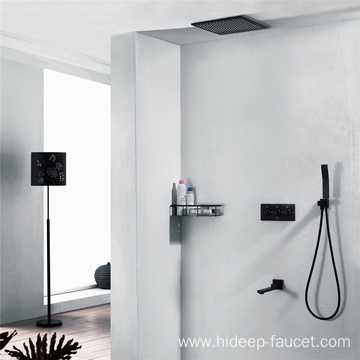 Three Function Black Shower Faucet MIXER