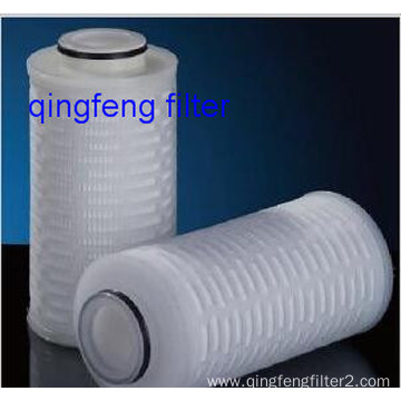 OEM Pleated PTFE Membrane 10′′ Filter Cartridge