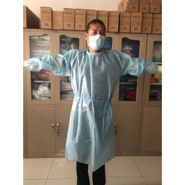 PP Coated Pe Isolation Gown