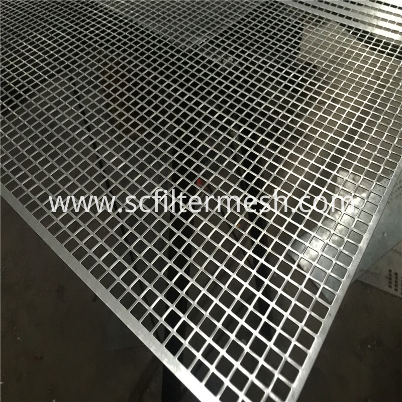 Square Perforated Metal