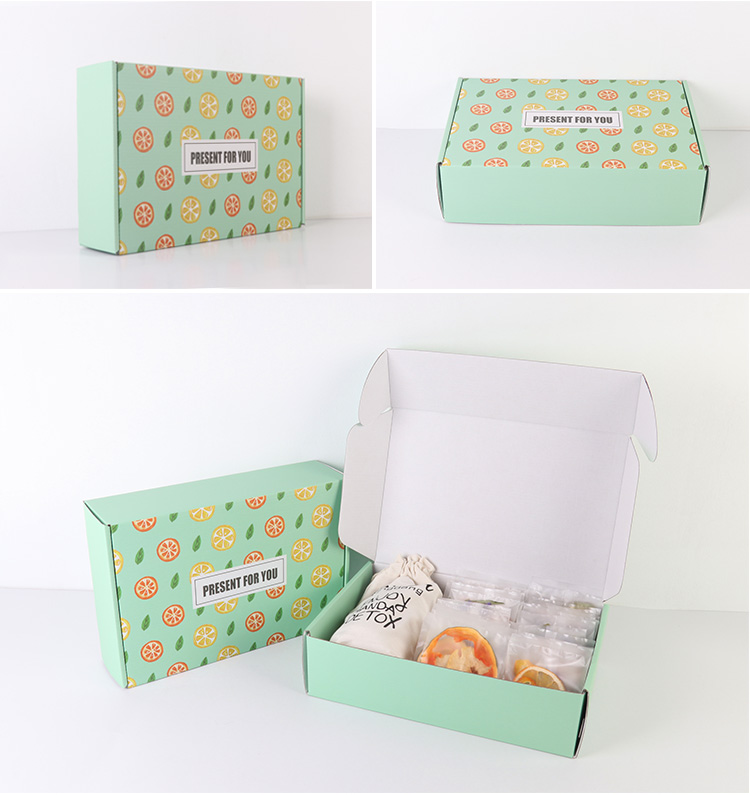 Colorful Aircraft Gift Boxes for Clothes