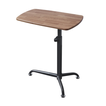 Height adjustable Rolling Office Desk