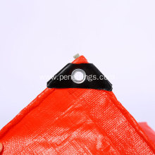PE Tarpaulin Virgin UV Treated 200 GSM Red