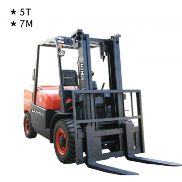 5 Tons Diesel Forklift (7-meter Lifting Height)