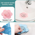 Hair Catcher Silicone Hair Stopper Shower Drain Covers